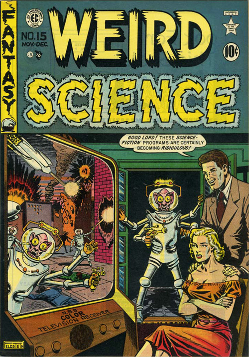 Weird Science #4 (#15) – Nov/Dec, 1950