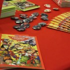 The Phoenix Comicon booth had info guides for the upcoming event.
