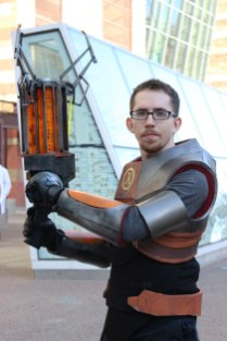 Gordon Freeman from the Half-Life series. (Photo by Christen Bejar)