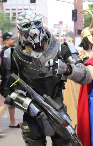 Garrus Vakarian from Mass Effect. (Photo by Christen Bejar)