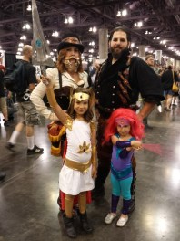 Creative Costumed Family