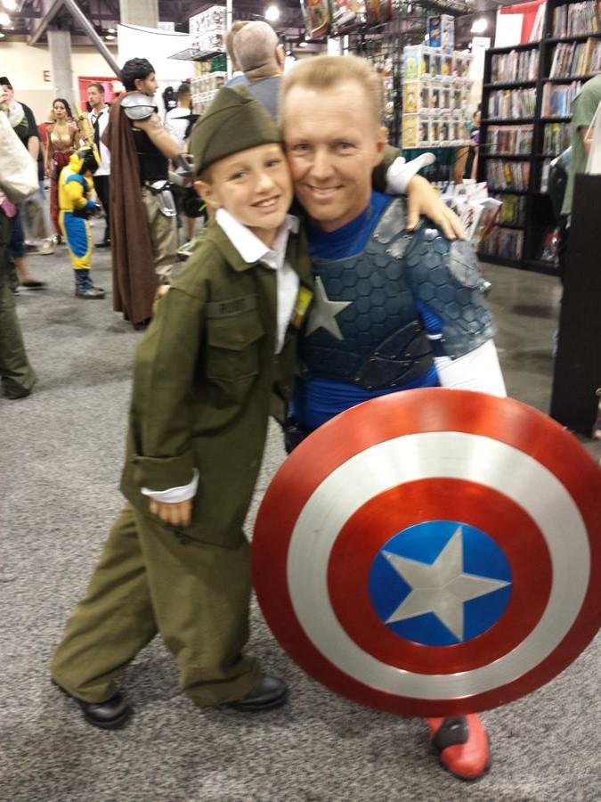 Cap and a recruit