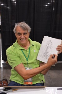 Herb Trimpe at Phoenix Comicon 2014