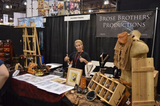 Brose Brothers Productions at booth #1824