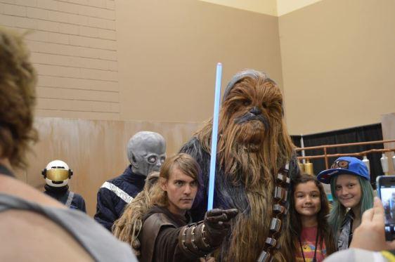 Chewie & Friend