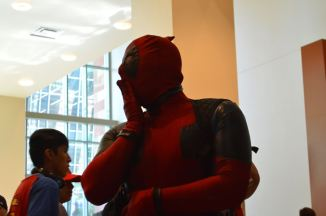 Deadpool not impressed