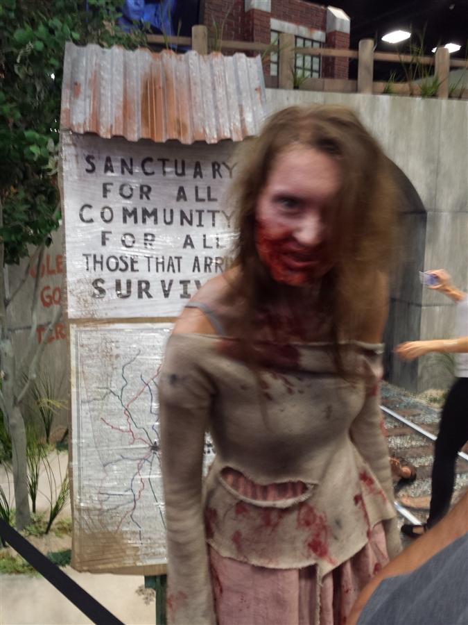 The Walking Dead- Terminus exhibit