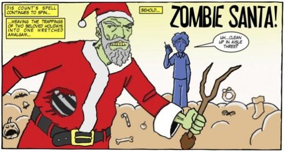 Zombie Santa 5