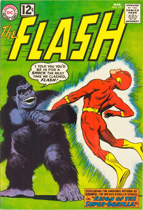 Flash #127 – March, 1962