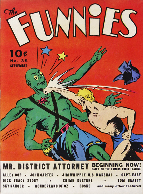 The Funnies #35 – September, 1939