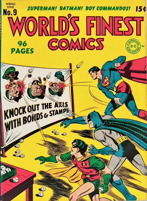 World's Finest #9 – March, 1943