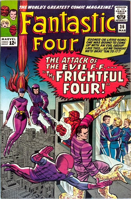 Classic Comic Cover Corner – Fantastic Four #36