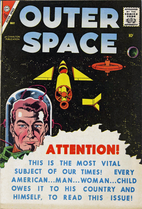 Outer Space #17 – May, 1958