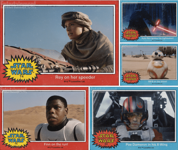 Star Wars: The Force Awakens trailer character names