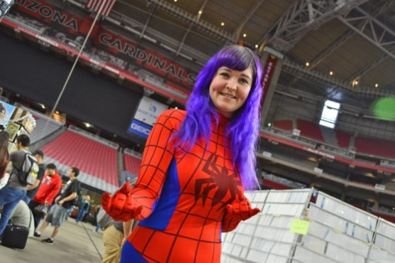 """Zia Records' """"Spider-Girl"""" at Phoenix Comicon Fan Fest"""