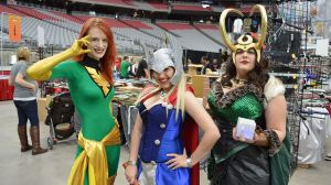 University of Phoenix Stadium Phoenix Comicon Fan Fest