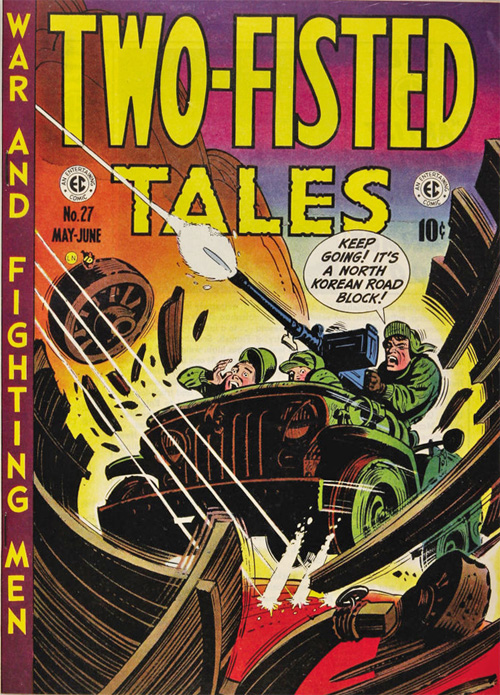 Two-Fisted Tales #27 – June, 1952