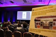 Borderlands developer Gearbox held fun contests and speed drawing demos in their room.