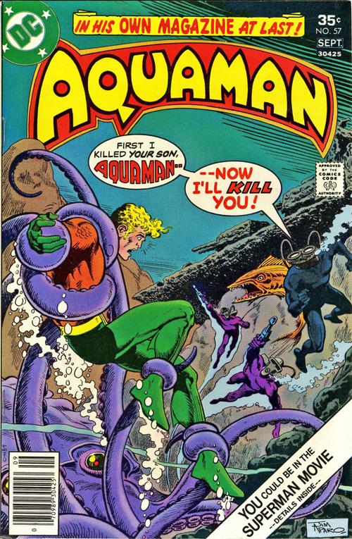Aquaman #57 – September, 1977