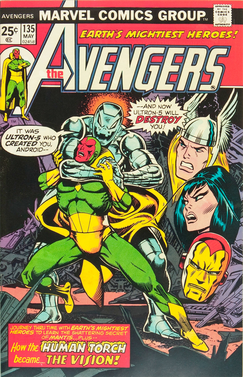Avengers #135 – May, 1975
