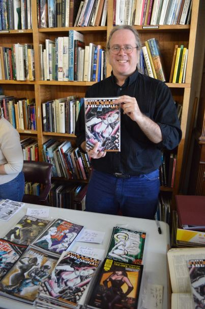 Scooter Harris at Book Gallery in Mesa - FCBD 2015
