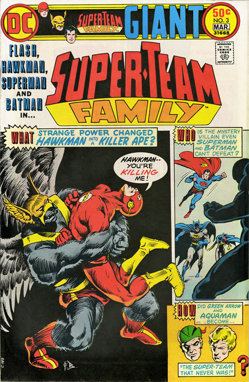 Super-Team Family #3 – March, 1976