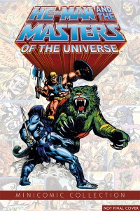 He-Man and the Masters of the Universe mini-comic reprints from Dark Horse
