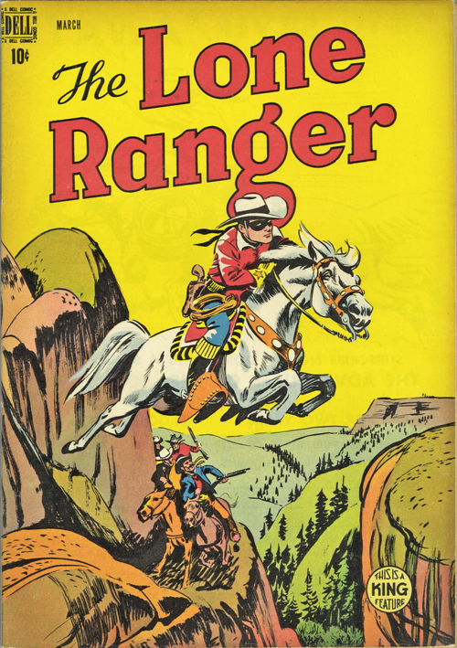 The Lone Ranger #9 – March, 1949