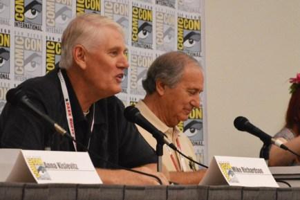 Mike Richardson and Jim Sullos
