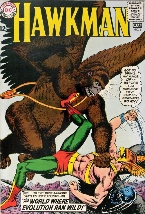 Hawkman #6 - March, 1965
