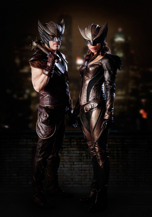 The CW's Hawkman and Hawkgirl