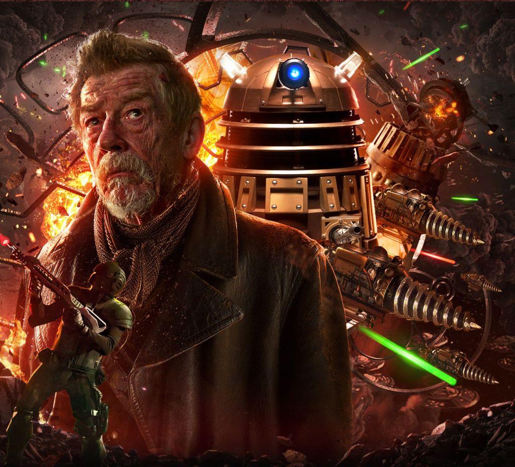 Free Doctor Who: John Hurt's War Doctor audio debut