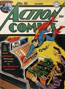 Action Comics #65 - October, 1943