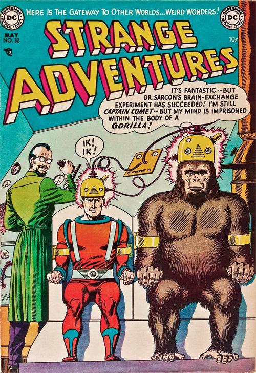 Strange Adventures #32 – May, 1953