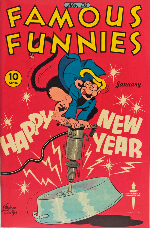 Famous Funnies #138 – January, 1946