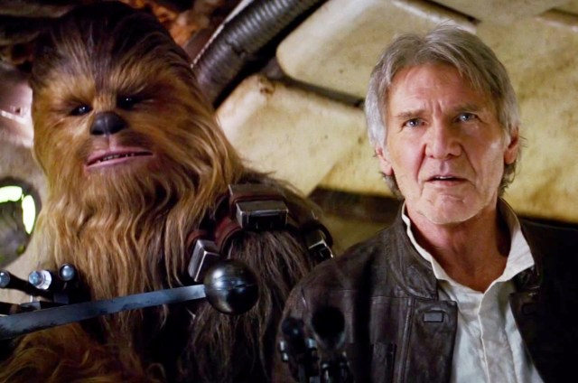 Chewbacca and Han Solo