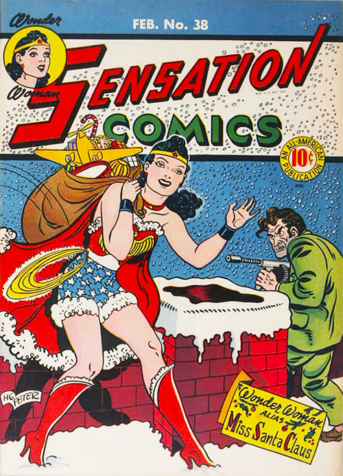 Sensation Comics #38 – February, 1945