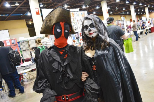 Yeah, yeah, it's Deadpool and his friend.