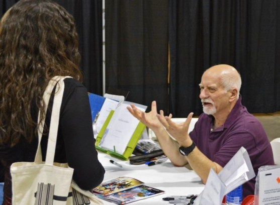 Chris Claremont at Amazing Arizona Comic Con - 2016