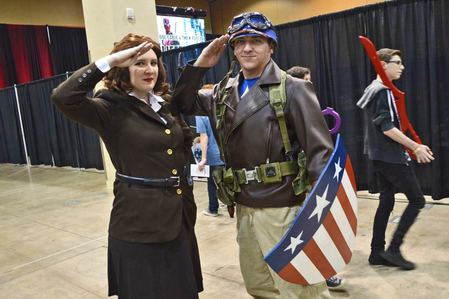 Magic and Mischief Cosplay it patriotic at AACC.
