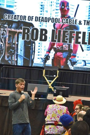 Rob Liefeld loves his fans at AACC 2016.