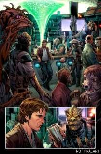 Star Wars Han Solo #1 comic