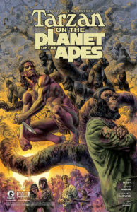 Tarzan on the Planet of the Apes - art by Duncan Fegredo