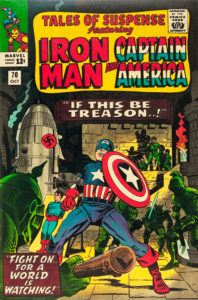 Tales of Suspense #70 featuring Iron Man and Captain Ameria