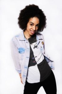 Pearl Mackie, Peter Capaldi's new co-star, joins Doctor Who as Bill.