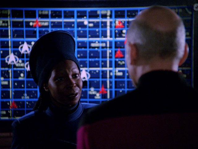 Star Trek: The Next Generation: Guinan and Jean-Luc Picard