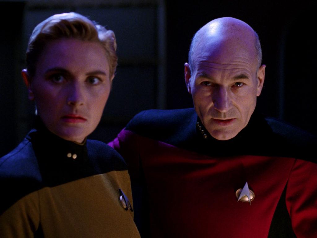 Star Trek: The Next Generation: Tasha Yar and Jean-Luc Picard