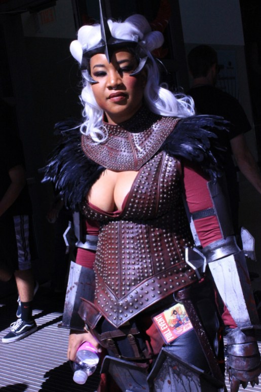 C'loni Bailey donned her Flemth cosplay from Dragon Age: Inquisition. [photo by Christen Bejar]