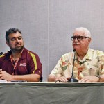 ASU Film Professor, Joe Fortunato and Carl Gottlieb