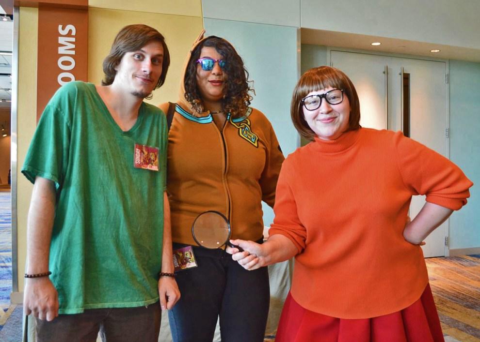 Shaggy, Scooby and Velma